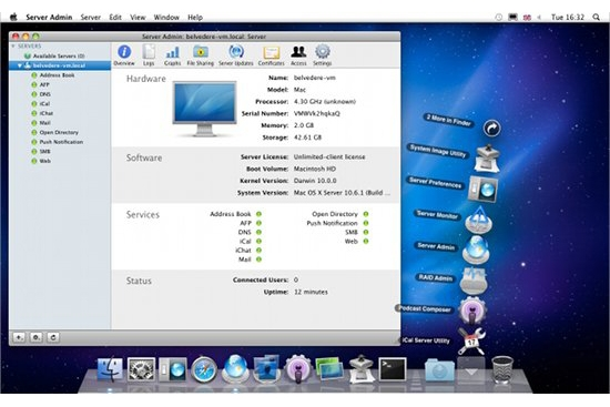 Apple Mac OS X 10.6 Snow Leopard Server