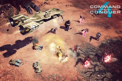 EA Games Command & Conquer 4: Tiberian Twilight