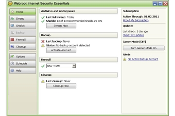 Webroot Internet Security Essentials 2010