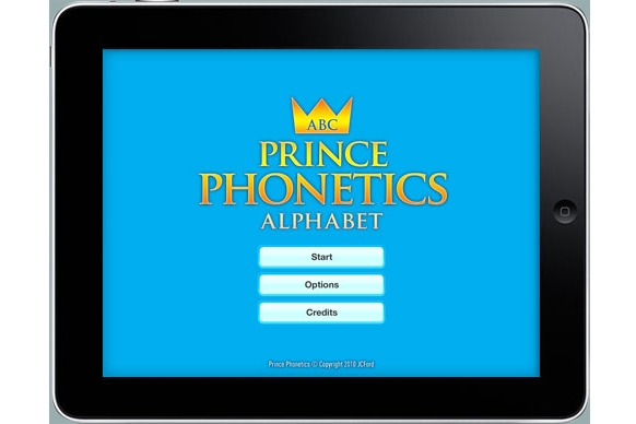 JCFord Prince Phonetics HD for iPad