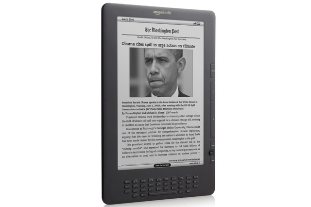 Amazon Web Services Kindle DX (Graphite)
