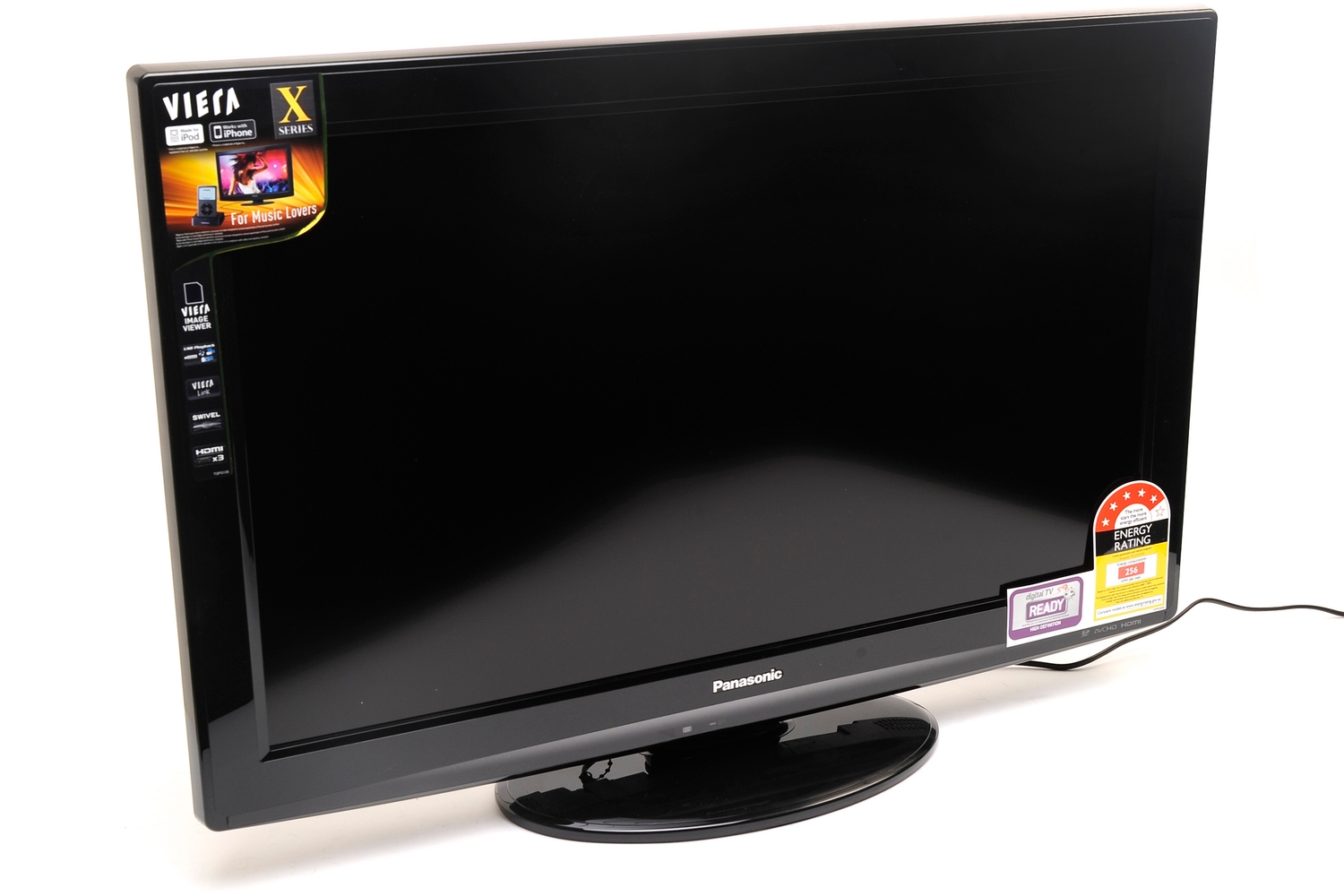 panasonic viera th l32x25a review panasonic 39 s 32in viera lcd tv comes with a dock for your ipod. Black Bedroom Furniture Sets. Home Design Ideas